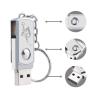 Gungldekor Kulcstartós 32GB-os Pendrive masszív fémvázas kivitelben egyedi gravírozott szöveggel