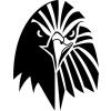 Gungldekor Sasfej 2 db plottervágott autós matrica applikáló fóliával