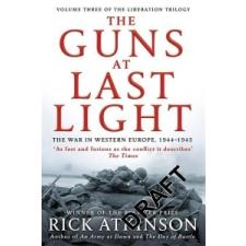 GUNS AT LAST LIGHT – Rick Atkinson idegen nyelvű könyv