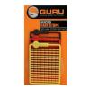 GURU - Micro Hair Stops -Red, Braun, Yellow bojli, pellet stopper