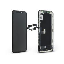 GX LCD kijelző érintőpanellel - Apple iPhone XS - GX HQ Hard OLED kiváló minőségű, utángyártott - fekete mobiltelefon kellék