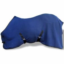 Gyapjú lótakaró felső hevederrel 105 cm kék lófelszerelés