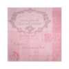 - gyártó nem ismert - Papír Szalvéta 3 rétegű - Fiorentina Lettre rózsaszín 33x33cm rózsaszín [16 db]