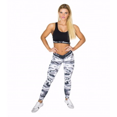 GymBeam Camo White női leggings - GymBeam L