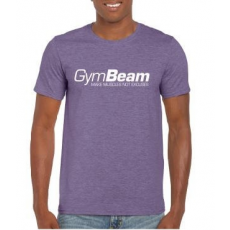GymBeam Póló Make Muscles Heather Purple XL