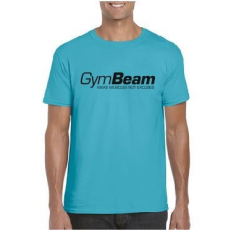 GymBeam Póló Make Muscles Tropical Blue S