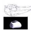 GYOPAR Lábtámasztó párna, henger - Gyopár S1