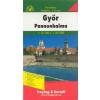 Győr és Pannonhalma várostérkép - f&b PLH 2