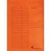 Gyorsfűző, karton, A4, VICTORIA, narancs [5 db]