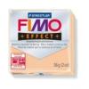 Gyurma, 56 g, égethető, FIMO Effect, pasztell őszibarack