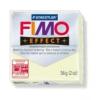 Gyurma, 56 g, égethető, FIMO Effect, sötétben világító
