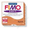 Gyurma, 56 g, égethető, FIMO Soft, konyak (FM802076)