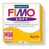 Gyurma, 56 g, égethető, FIMO Soft, napsárga (FM802016)