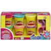 Gyurma szett Play-Doh csillámos
