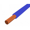 H05V-K 1x0,75 mm2 Kék PVC szigetelésű sodrott réz 300/500V Mcs-kh vezeték