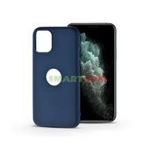 Haffner Apple iPhone 11 Pro szilikon hátlap - Soft Logo - kék tok és táska