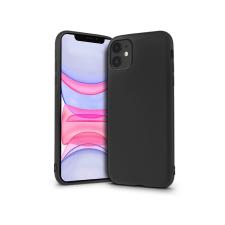 Haffner Apple iPhone 11 szilikon hátlap - Soft Premium - fekete tok és táska