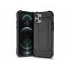 Haffner Apple iPhone 12/12 Pro ütésálló hátlap - Armor - fekete