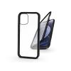 Haffner Apple iPhone 12 Mini mágneses, 2 részes hátlap előlapi üveggel - Magneto 360 - fekete