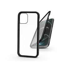 Haffner Apple iPhone 12 Pro Max mágneses, 2 részes hátlap előlapi üveggel - Magneto 360 - fekete mobiltelefon kellék