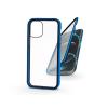 Haffner Apple iPhone 12 Pro Max mágneses, 2 részes hátlap előlapi üveggel - Magneto 360 - kék