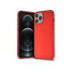 Haffner Apple iPhone 12 Pro Max szilikon hátlap - Soft - piros