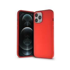 Haffner Apple iPhone 12 Pro Max szilikon hátlap - Soft - piros mobiltelefon, tablet alkatrész