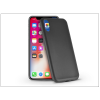 Haffner Apple iPhone X szilikon hátlap - Jelly Flash Mat - fekete