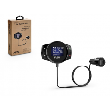 Haffner BCFM-SR1 FM-transmitter - Bluetooth + memóriakártya olvasó + 2xUSB autós töltő - 2,4A - fekete memóriakártya