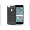 Haffner Huawei P10 Lite szilikon hátlap - Carbon - fekete