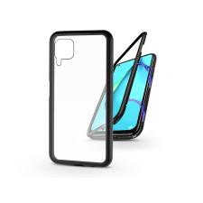 Haffner Huawei P40 Lite mágneses, 2 részes hátlap előlapi üveg nélkül - Magneto fekete tok és táska