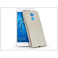 Haffner Huawei Y7 szilikon hátlap - Jelly Flash Mat - gold tok és táska