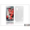 Haffner LG E460 Optimus L5 II szilikon hátlap - S-Line - fehér