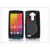 Haffner LG G4 H815 szilikon hátlap - S-Line - fekete