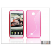 Haffner LG P875 Optimus F5 szilikon hátlap - S-Line - pink