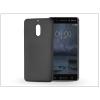 Haffner Nokia 6 szilikon hátlap - Jelly Flash Mat - fekete