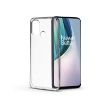 Haffner OnePlus Nord N10 5G szilikon hátlap - Soft Clear - transparent tok és táska