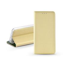 Haffner S-Book Flip bőrtok - Apple iPhone 12 Mini - arany tok és táska