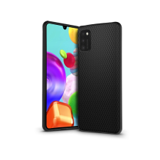 Haffner Samsung A415F Galaxy A41 hátlap - Liquid Air - fekete tok és táska