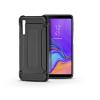 Haffner Samsung A750F Galaxy A7 (2018) ütésálló hátlap - Armor - fekete