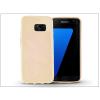 Haffner Samsung G930F Galaxy S7 szilikon hátlap - Jelly Flash - gold
