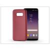 Haffner Samsung G955F Galaxy S8 Plus szilikon hátlap - Jelly Flash Mat - piros