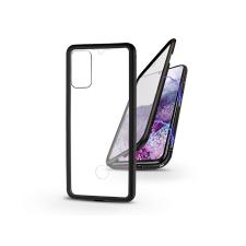 Haffner Samsung G985F Galaxy S20+ mágneses, 2 részes hátlap előlapi üveggel - Magneto 360 - fekete tok és táska