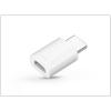 Haffner Samsung gyári micro USB - USB Type-C adapter - GH98-40218A - white