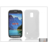 Haffner Samsung SM-G870 Galaxy S5 Active szilikon hátlap - S-Line - fehér