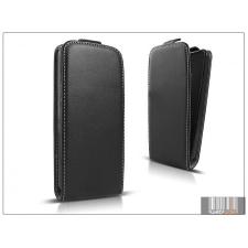 Haffner Slim Flexi Flip bőrtok - Samsung SM-G357FZ Galaxy Ace 4 - fekete tok és táska