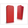 Haffner Slim Flexi Flip bőrtok - Samsung SM-G357FZ Galaxy Ace 4 - piros