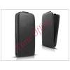 Haffner Slim Flexi Flip bőrtok - Samsung SM-G925 Galaxy S6 Edge - fekete