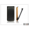 Haffner Slim Flip bőrtok - HTC Desire 600 - fekete
