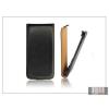 Haffner Slim Flip bőrtok - HTC Desire 601 - fekete